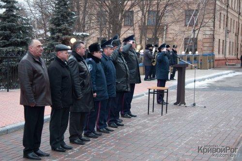 Вчера состоялся торжественный развод органов и подразделений Криворожского МУ (ФОТО), фото-1
