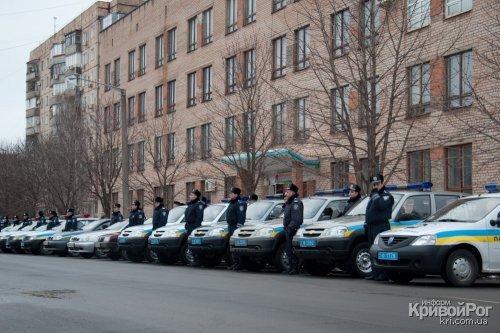 Вчера состоялся торжественный развод органов и подразделений Криворожского МУ (ФОТО), фото-2