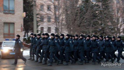 Вчера состоялся торжественный развод органов и подразделений Криворожского МУ (ФОТО), фото-3
