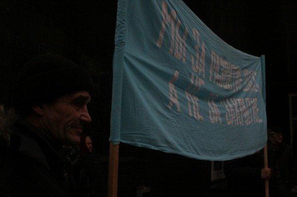 В Донецке прошла протестная акция шахтеров (фото), фото-2