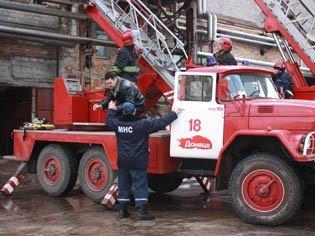 В Донецке горел  пивной завод «Сармат» (фото), фото-4