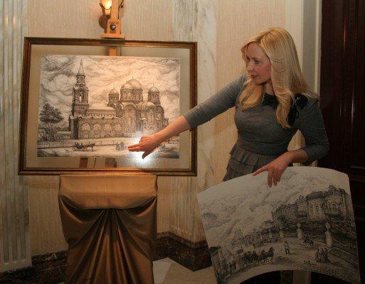Донецкая художница собирается впечатлить гостей «Евро-2012» видами старой Юзовки (фото), фото-2