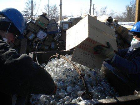В Горловке на предприятии «Никитртуть» утилизирована первая партия ламп накаливания, фото-1