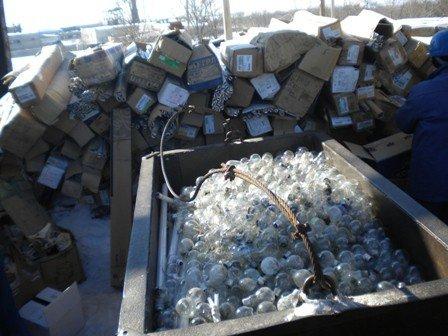 В Горловке на предприятии «Никитртуть» утилизирована первая партия ламп накаливания, фото-2