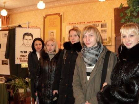 Преподаватели и студенты горловского иняза посетили школьный музей Василя Стуса, фото-1