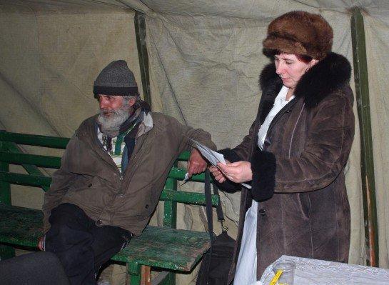 В центре Донецка открыли пункт обогрева для бездомных  (фото), фото-5