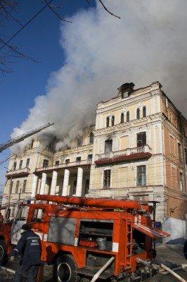 В Луганске сгорела больница с медицинским оборудованием, купленным на деньги Ахметова (фото), фото-2