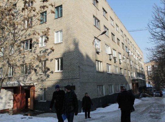 В центре Донецка на радость преступникам - горели прокуратура, милиция и суд (фото), фото-1