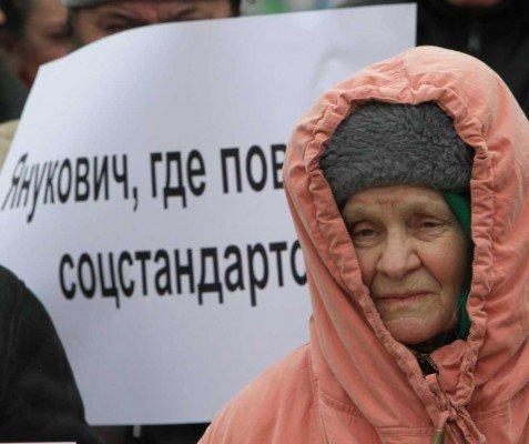 В годовщину инаугурации Януковича в Донецке провели митинг протеста (фото), фото-4