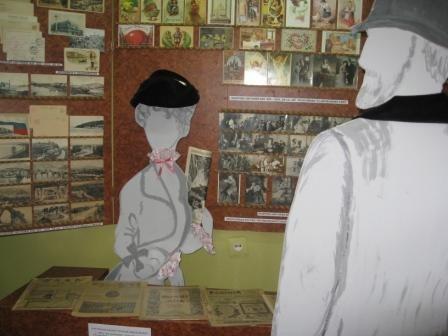 В музее истории Горловки открыли «зал-вокзал» и выставили на обозрение пулемет «Максим», фото-1