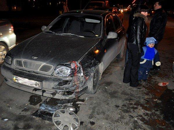 На пр. Октябрьском столкнулись Daewoo Lanos и Ford. (ФОТО), фото-6