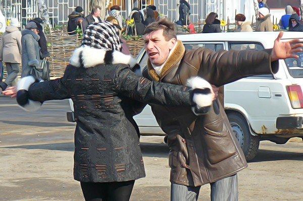 Луганчане встречают весну (фото), фото-4
