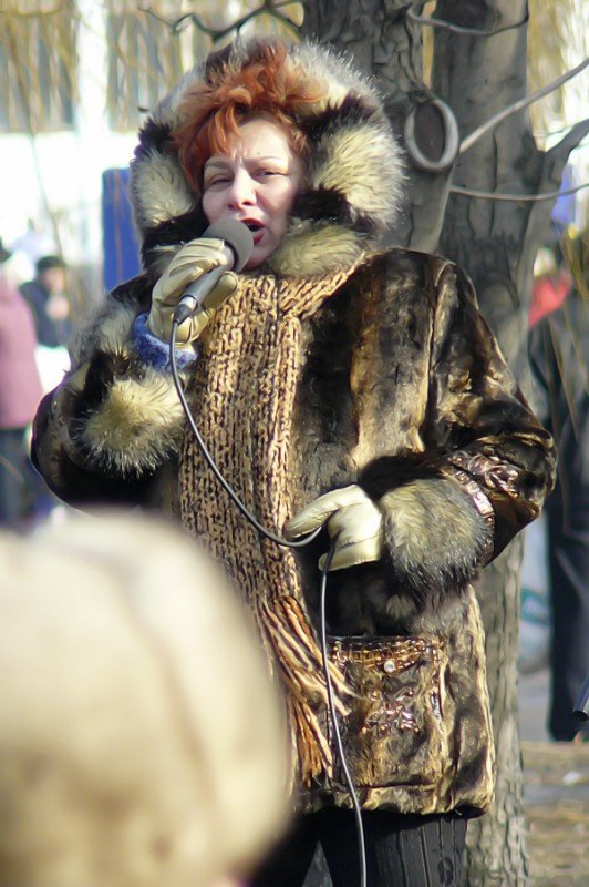 Луганчане встречают весну (фото), фото-5