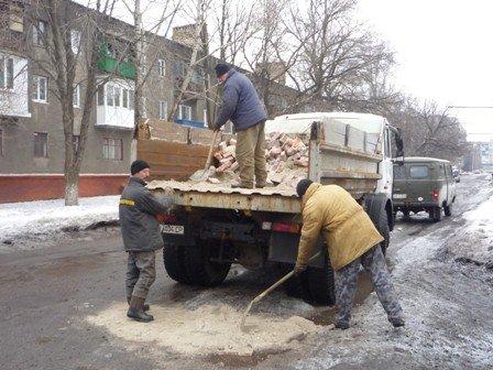 В Горловке начали ремонтировать дороги, фото-2