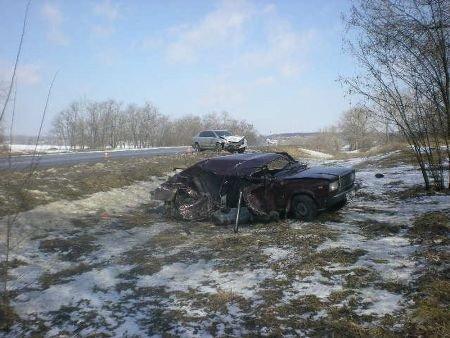 Под Харьковом столкнулись две легковушки: 1 человек погиб, 4 – ранены (ФОТО), фото-4