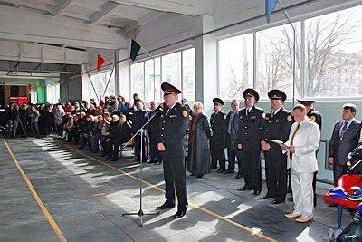 В Луганске состоялось открытие IV чемпионата Украины по пожарно-прикладному спорту (фото), фото-1