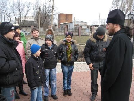 Воспитанники детского дома «Надежда» посетили храмы Горловки (ФОТО), фото-1