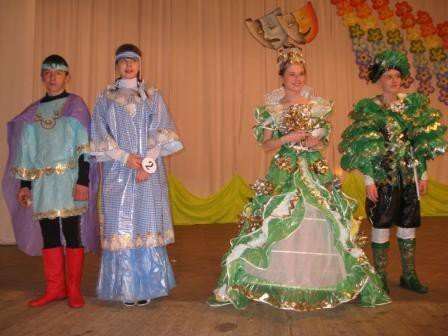 В Горловке дети-модели дефилировали в костюмах эпохи Средневековья из вторсырья (ФОТО), фото-5