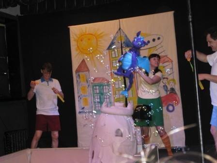 Горловская ребятня посетила страну «Мультипузырляндию», фото-1