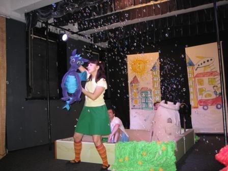 Горловская ребятня посетила страну «Мультипузырляндию», фото-4