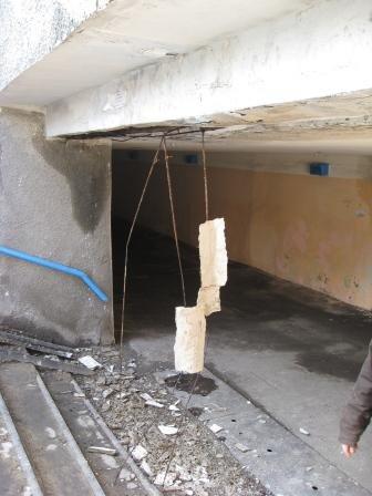 В Горловке обвалилась часть подземного перехода (ФОТО), фото-1