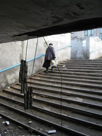 В Горловке обвалилась часть подземного перехода (ФОТО), фото-7