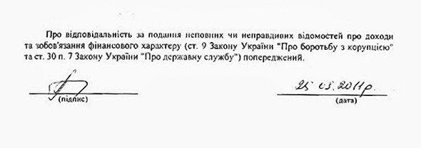 Экс-министр обороны обнародовал Декларацию о доходах за 2010 год, фото-4