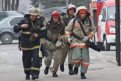 Вчера луганские МЧСники тушили условный пожар (фото), фото-2