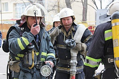 Вчера луганские МЧСники тушили условный пожар (фото), фото-4