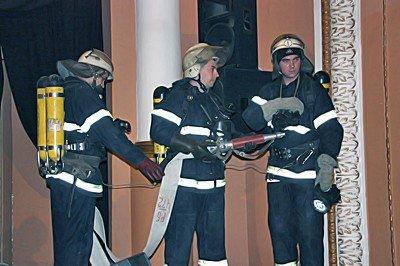 Вчера луганские МЧСники тушили условный пожар (фото), фото-6