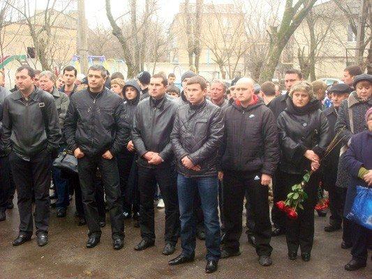 Горловка простилась с тренером Сергея Реброва, фото-2