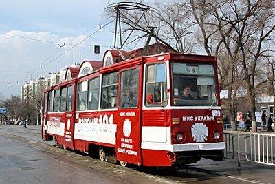 В Луганске появился «трамвай-МЧС» (фото), фото-4