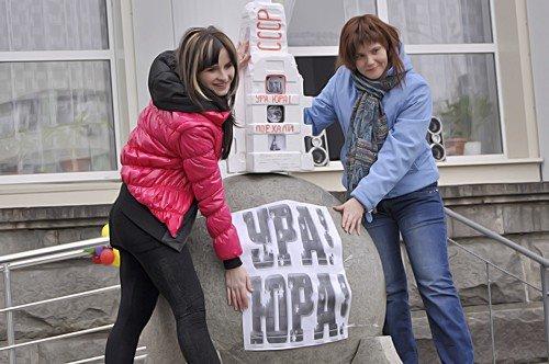 В Луганске прошел флэшмоб посвященный Дню космонавтики (фото), фото-4