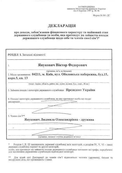 Украинские политики обнародовали свои декларации о доходах, фото-1