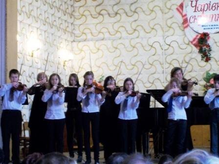 В Горловке прошел фестиваль-конкурс «Волшебная скрипка», фото-2