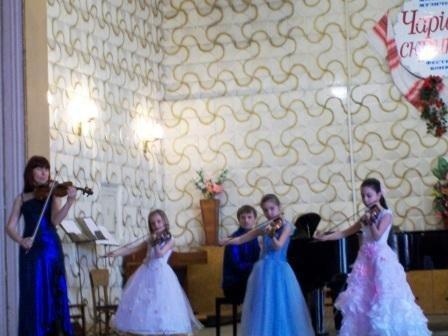 В Горловке прошел фестиваль-конкурс «Волшебная скрипка», фото-3