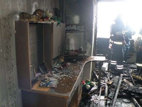 У Вінниці від вогню врятували восьмирічну дівчинку (ФОТО), фото-2