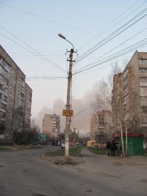 У Вінниці палав сміттєвий полігон (ФОТО), фото-1