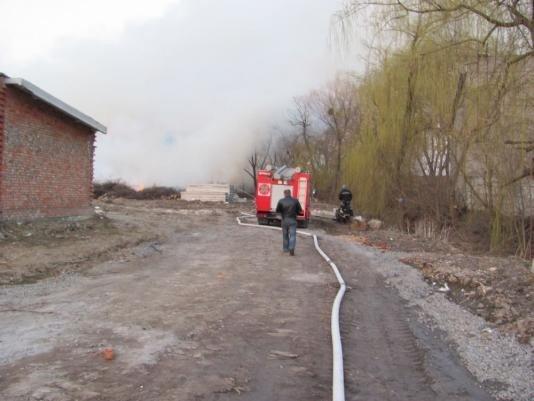 У Вінниці палав сміттєвий полігон (ФОТО), фото-2