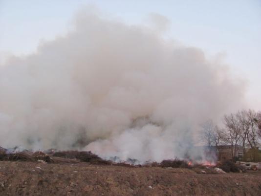 У Вінниці палав сміттєвий полігон (ФОТО), фото-3