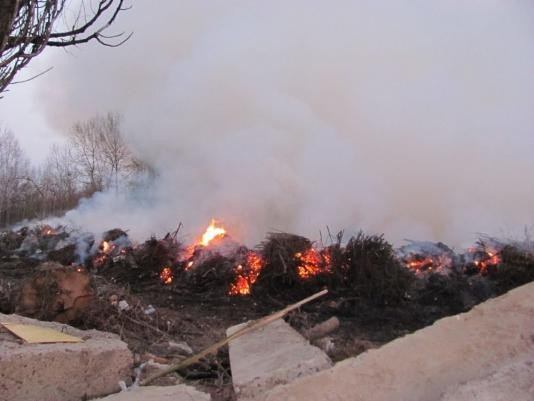 У Вінниці палав сміттєвий полігон (ФОТО), фото-4
