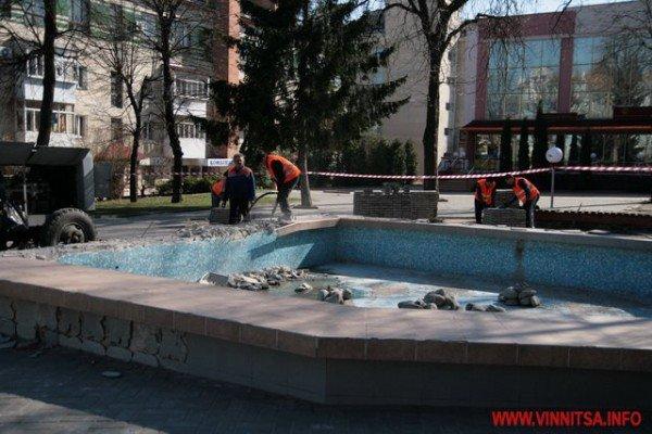 У Вінниці почали «ламати» Майдан Незалежності перед мерією (ФОТО), фото-7