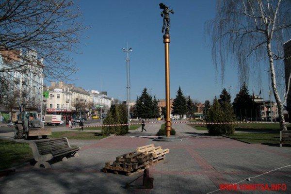 У Вінниці почали «ламати» Майдан Незалежності перед мерією (ФОТО), фото-8
