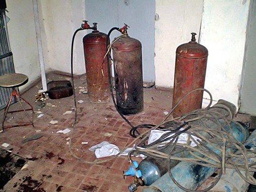 Луганские МЧСники спасли город от взрыва (фото), фото-3