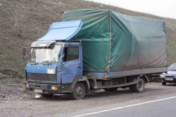 На трассе Горловка-Донецк грузовик снес автобус. 12 человек травмированы (Фото), фото-5