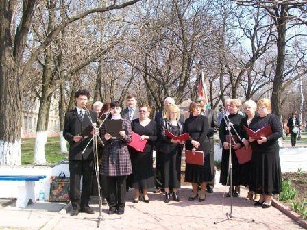 Горловчане почтили память погибших на ЧАЭС, фото-1