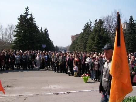 Горловчане почтили память погибших на ЧАЭС, фото-2