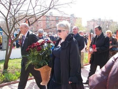 Горловчане почтили память погибших на ЧАЭС, фото-4