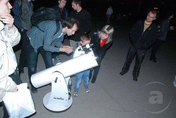 В Харькове прошёл вечер тротуарной астрономии (ФОТО), фото-1