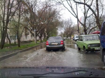 Симферополь уходит под воду (фото), фото-5